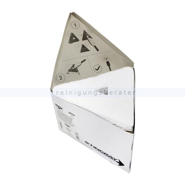 Unger Stingray Glas Innenreinigung QuikPads Adapter SRADK 25er-Packung SRPD3