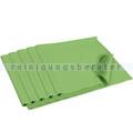 Fenstertuch ENA Glas- und Spiegeltuch 40x40 cm Grün