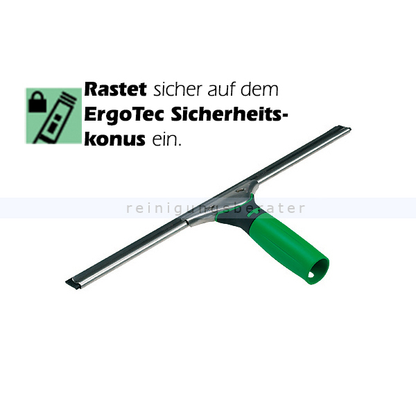 Fensterwischer Unger ErgoTec ES550 55 cm Abzieher mit S-Schiene und Soft Gummi
