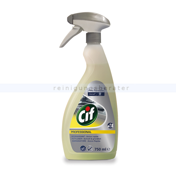 Fettlöser Diversey CIF Professional Fettlöser 0,75 L