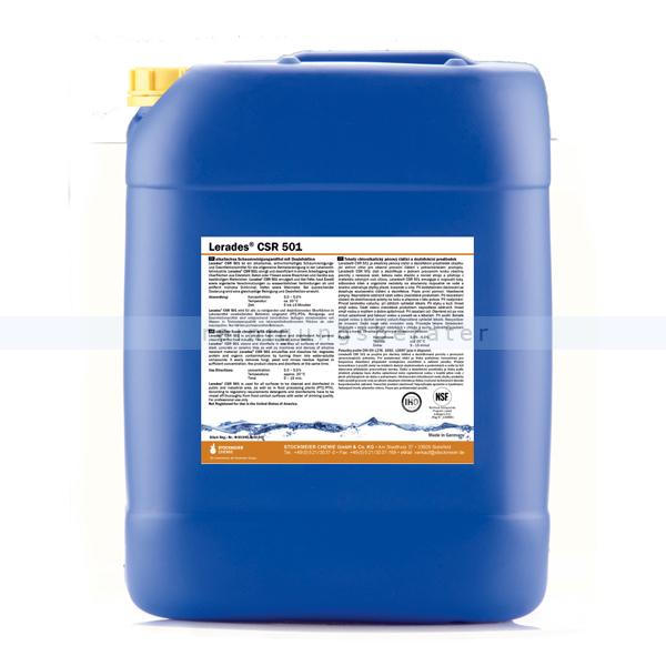 Schöler Lerades CSR 501 Schaumreiniger 22 kg chloralkalischer Desinfektionsreiniger gegen Fett und Eiweiß CSR 501/22kg