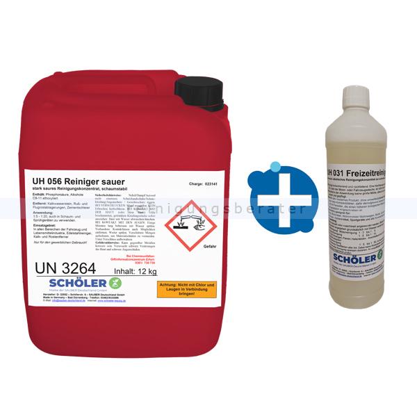 Fettlöser Schöler UH 056 Reiniger sauer 12 kg