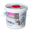 Feuchttuchspender CleaningBox 4-in-1 Edelstahl & Fahrstuhl