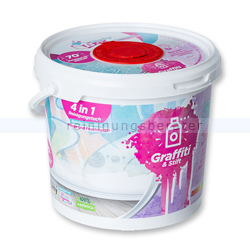Feuchttuchspender CleaningBox 4-in-1 Graffiti & Stift 70 St.