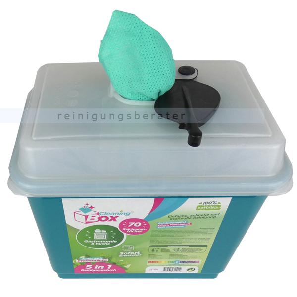 Feuchttuchspender CleaningBox 5-in-1 Gastro & Küche 70er