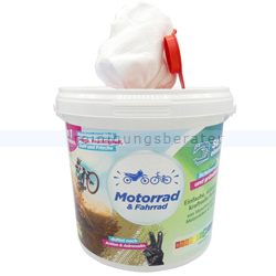 Feuchttuchspender CleaningBox 5-in-1 Motorrad & Fahrrad 35er