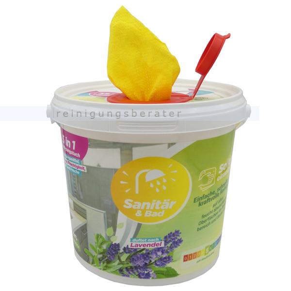 Feuchttuchspender CleaningBox 5-in-1 Sanitär & Bad 35 Stück