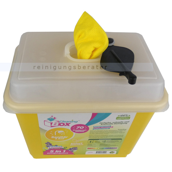 Feuchttuchspender CleaningBox 5-in-1 Sanitär & Bad 70er