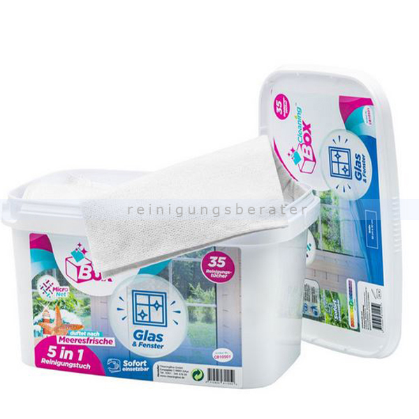 Feuchttuchspender CleaningBox WetCleanWipes 5-in-1 50 Stück