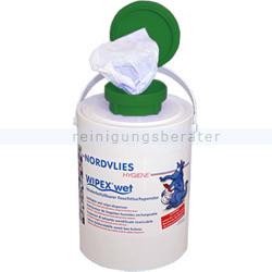 Feuchttuchspender Nordvlies WIPEX-WET grün