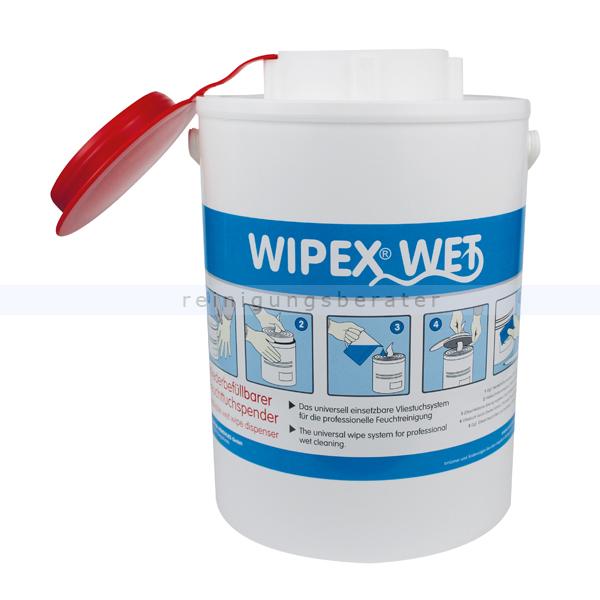Feuchttuchspender Nordvlies WIPEX-WET rot