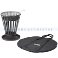 Feuerschale Greenhand BBQ Fire Basket Feuerkorb 38 cm