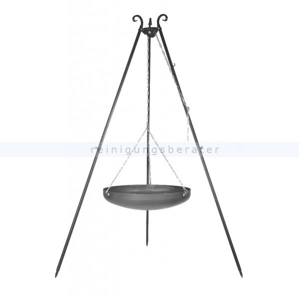 farmcook feuerschale h ngend an dreibein viking 60cm h0100. Black Bedroom Furniture Sets. Home Design Ideas