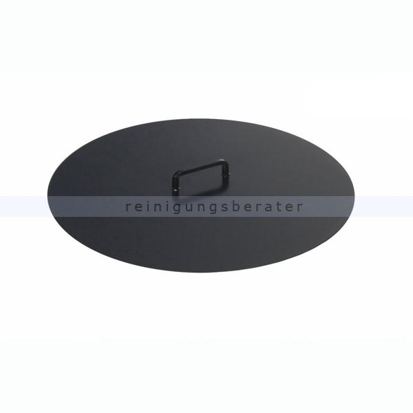 Nortpol Farmcook Feuerschalen Abdeckung Ř 80 cm, Funkenschutz E00522 Abdeckung für Funken- und Aschenschutz