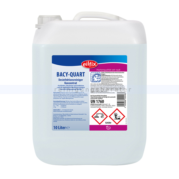 Flächendesinfektion Becker Chemie Bacy Quart Konzentrat 10 L