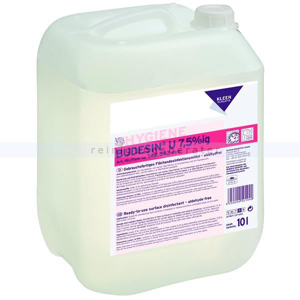 Flächendesinfektion Kleen Purgatis Budesin U 7,5 %ig 10 L