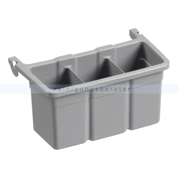 Flaschengestell TTS Verlängerung für Tragekorb grau Utensilienkorb Erweiterung 00003356E