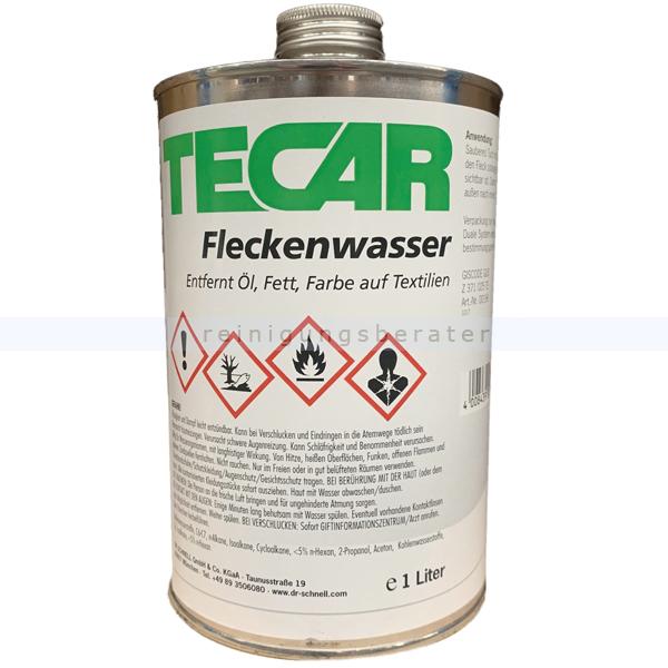 Dr. Schnell, Fleckenwasser Tecar 1 L Fleckenentferner Fleckenentferner für Teppiche & Textilien 00196