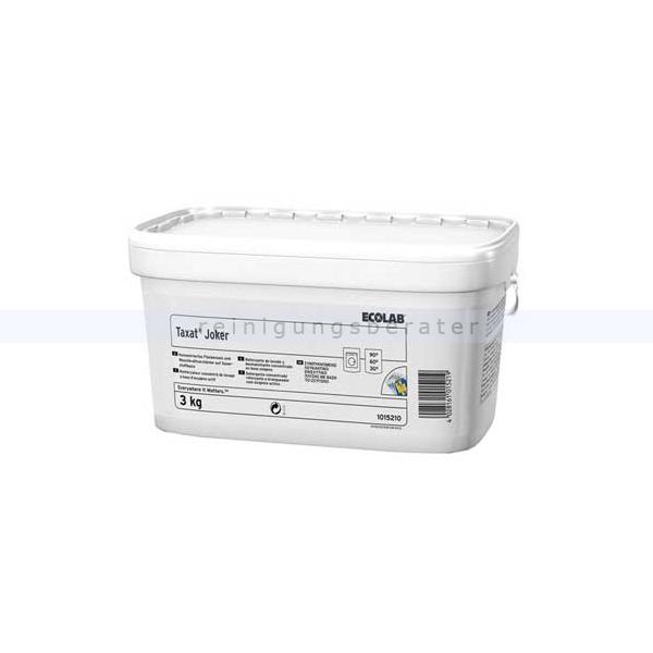 Ecolab Taxat Joker 3 kg Fleckensalz Fleckensalz mit 4fach-Energie 1015210