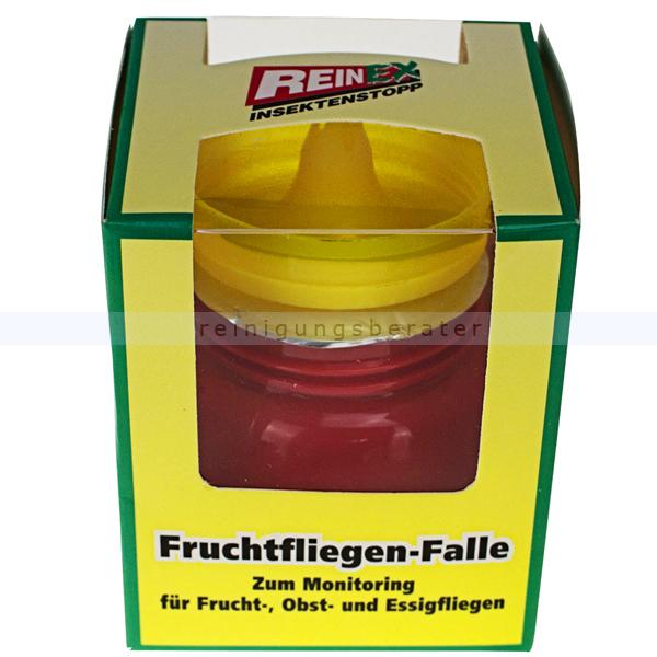 Fliegenfänger Reinex Fruchtfliegenfalle Insektenstopp 60 ml gegen Frucht-, Obst- und Essigfliegen 1366