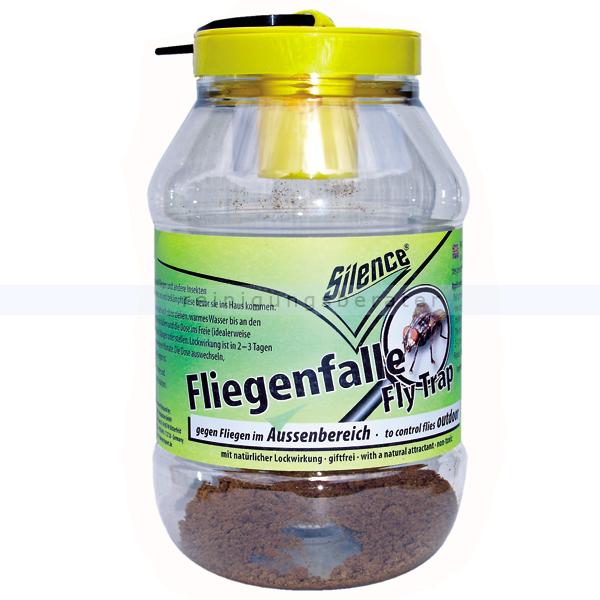 Schopf Hygiene Fliegenfänger Schopf Silence Fly Trap Fliegenfalle im Aussenbereich Falle und Lockstoff für den Außenbereich 302181