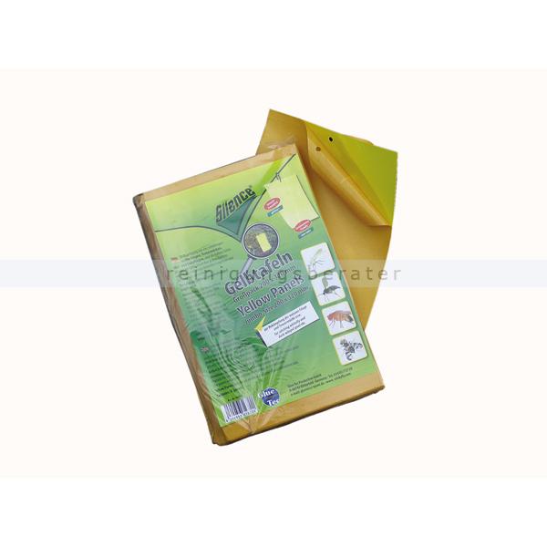 Fliegenf nger schopf silence gelbtafeln 50 gro tafeln for Fruchtfliegen im blumentopf