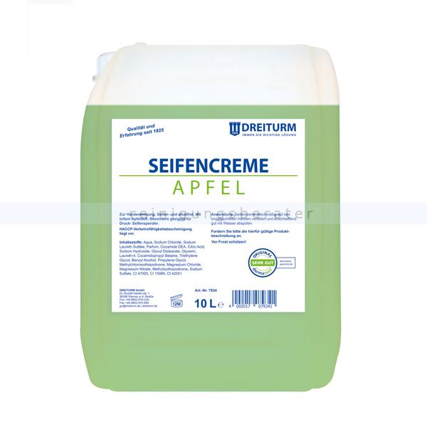 Flüssigseife Dreiturm Apfel 10 L Seifencreme, besonders Hautverträglich 7934