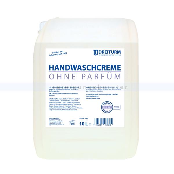Flüssigseife Dreiturm Handwaschcreme Ohne Parfüm 10 L