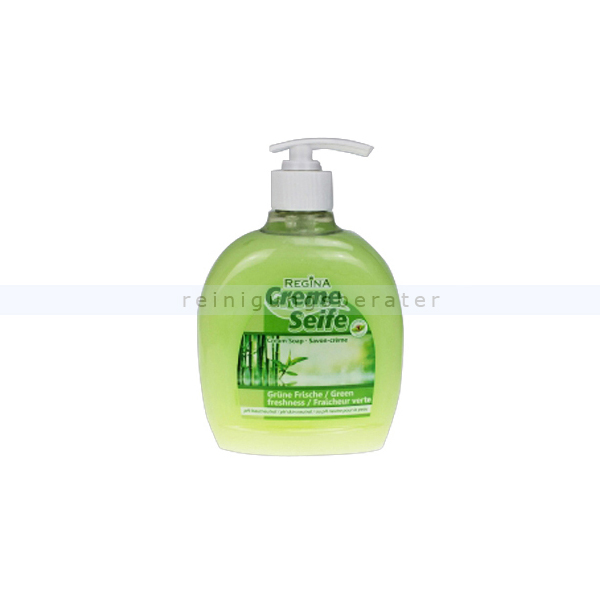 Flüssigseife in Seifenspender Reinex Grüne Frische 500 ml Cremeseife in Dispenser-Flasche oder Dosierflasche 338