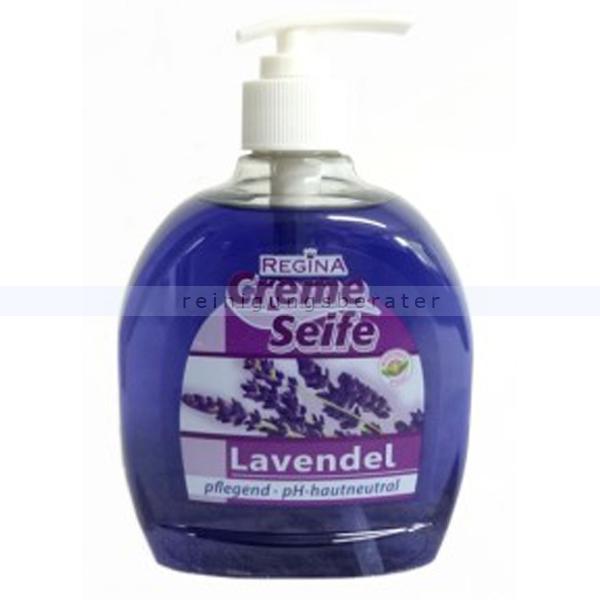 fl ssigseife in seifenspender reinex lavendel 500 ml. Black Bedroom Furniture Sets. Home Design Ideas