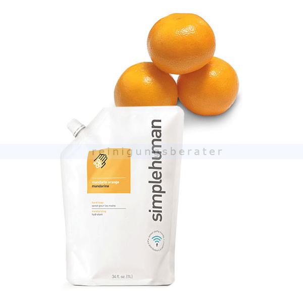 Flüssigseife Simplehuman Handseife Mandarine 1 L