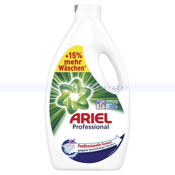 Procter and Gamble Ariel Professional Regulär 55 WL 3,03 L Flüssigwaschmittel professionelles Vollwaschmittel für maximale Waschkraft PROFARI4974
