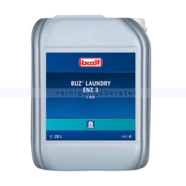 Buzil Buz Laundry Enz 3 L820 20 L L 820 ist ein enzymhaltiges Flüssigwaschmittelkonzentrat L820-0020R1