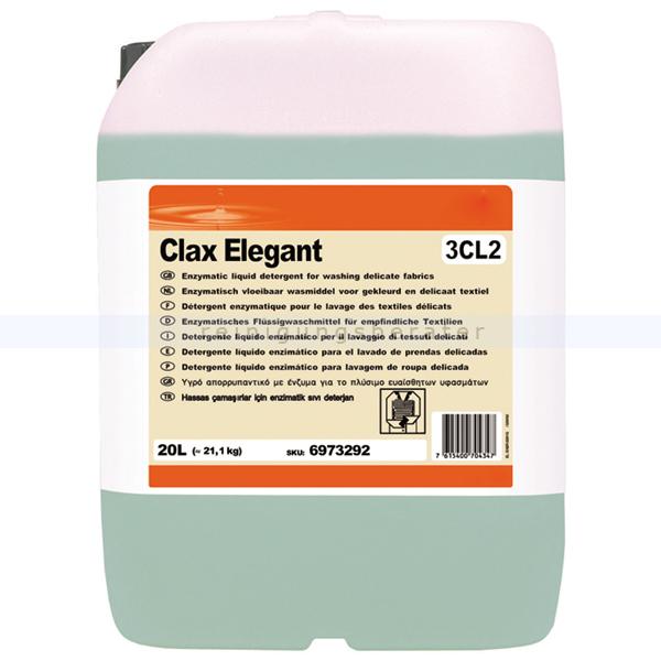 Diversey Clax Elegant 3Cl2 W362 20 L Feinwaschmittel Flüssiges Feinwaschmittel 6973292