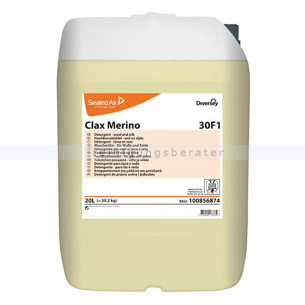 Diversey Clax Merino 30F1 20 L W87 20 L Feinwaschmittel Flüssiges Spezialwaschmittel 100856874