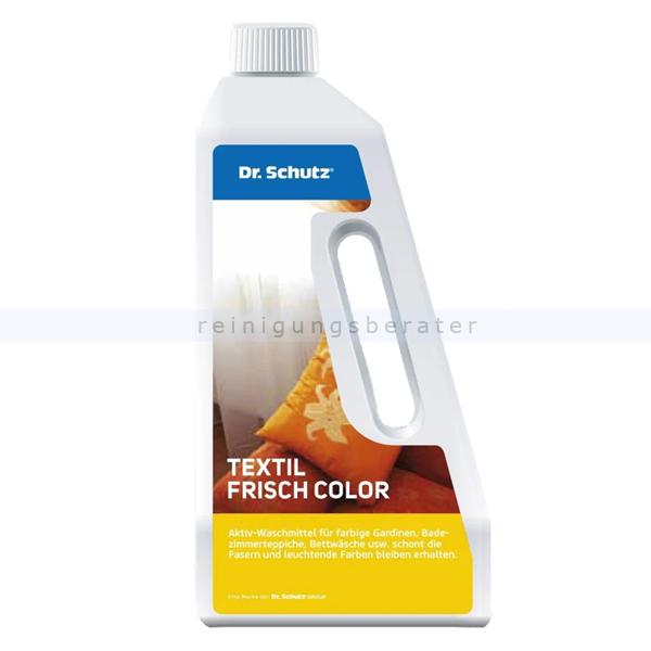Dr. Schutz Textil Frisch Color 750 ml Aktiv-Waschmittel für die schonende Reinigung 2411075005