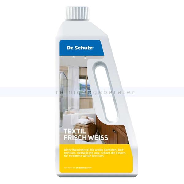 Dr. Schutz Textil Frisch Weiss 750 ml Aktiv-Waschmittel für die schonende Reinigung 2511075005