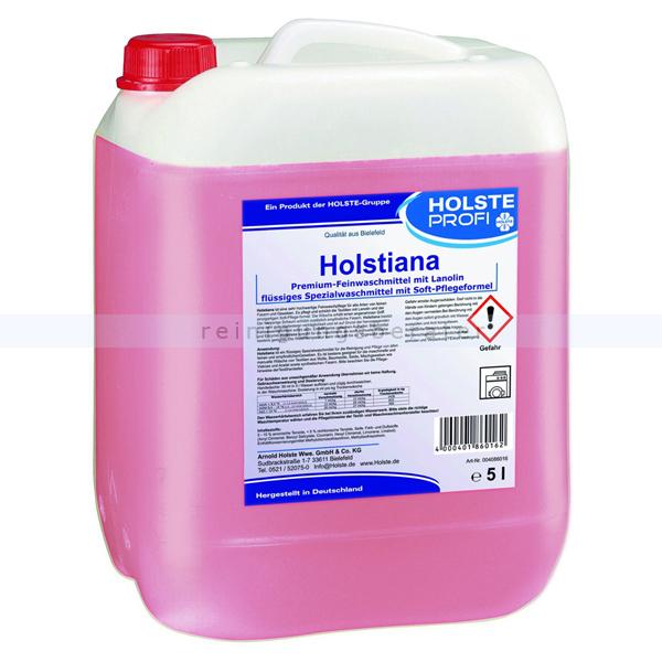 Holste Holstiana Feinwaschmittel 5 L Flüssigwaschmittel Feinwaschmittel, für ca. 800 kg Trockenwäsche 4086016