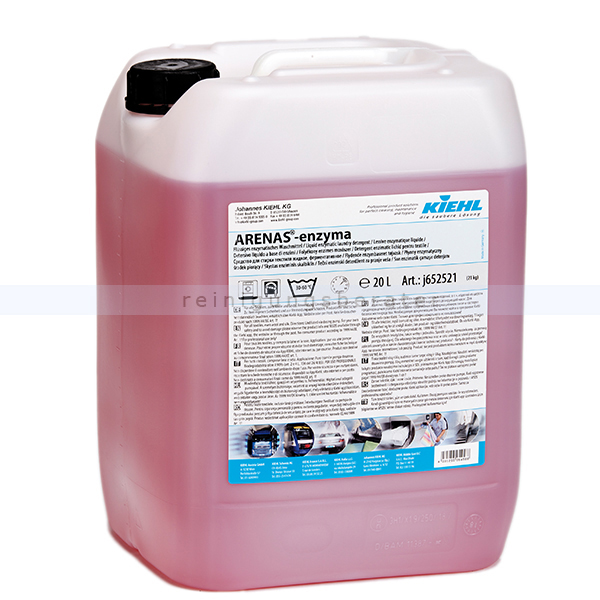Kiehl ARENAS®-enzyma 20 L Flüssiges enzymatisches Waschmittel j652521