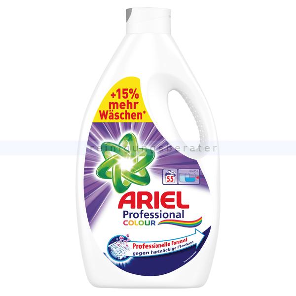 Procter and Gamble P&G Ariel Professional Color 55 WL 3,03 L Flüssigwaschmittel professionelles Colorwaschmittel für maximale Waschkraft PROFARI4912