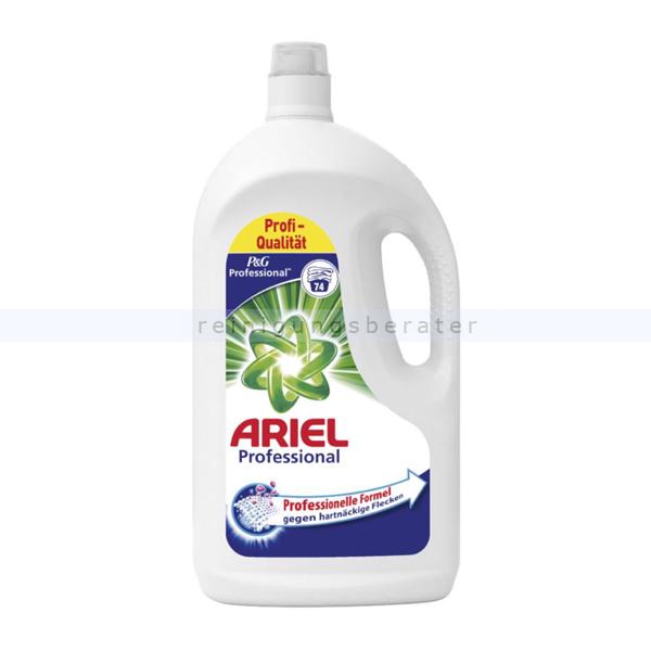 Procter and Gamble P&G Ariel Professional regulär 4,07 L Flüssigwaschmittel professionelles Vollwaschmittel für maximale Waschkraft PROFARI9952