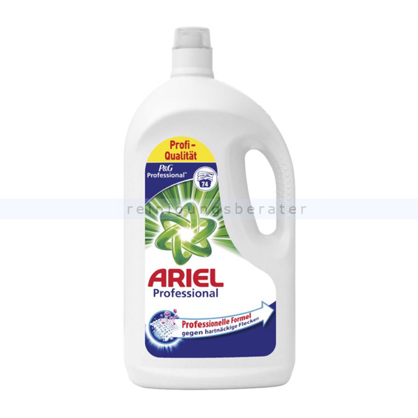 Flüssigwaschmittel Professional Ariel Regulär 74 WL 4,07 L