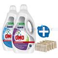 Flüssigwaschmittel Set OMO und CORAL Professional 2 x 5 L
