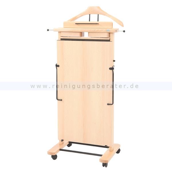 garderobenst nder hosenpresser extra naturell holz. Black Bedroom Furniture Sets. Home Design Ideas