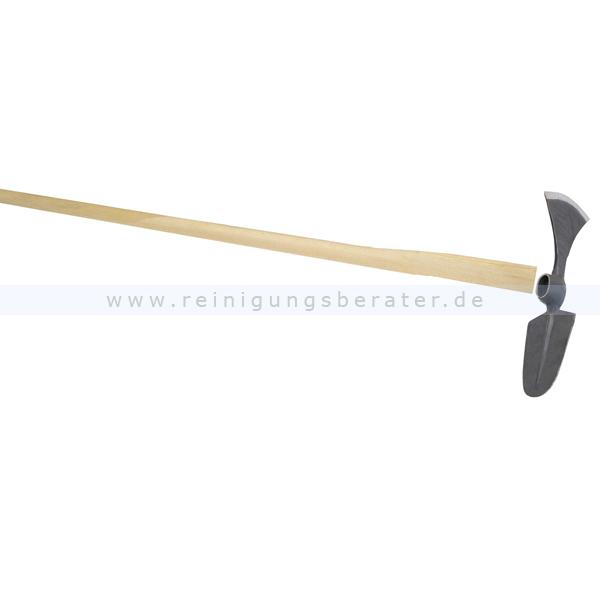 Gartenhacke FLORA Wiedehopfhaue ovales Blatt, mit Stiel wendbare Hacke zum Roden und Kultivieren 02107