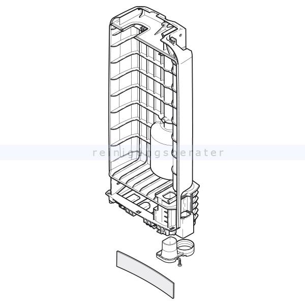 Gehäuseteil Sebo Filterkasten