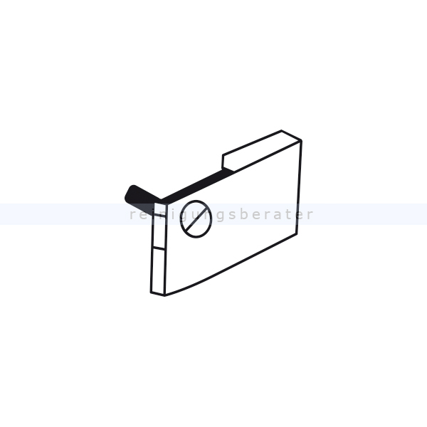 Gehäuseteil Sebo Verschlußkappe komplett