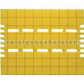 Gelbe Klebefolien aus Correx für das Visu Suspended 30