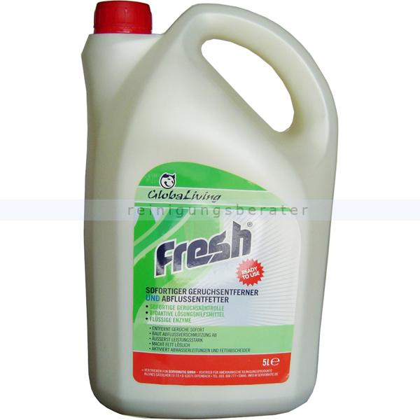 ReinigungsBerater Geruchsentferner Fresh 5 L Geruchsentferner und Abflussentfetter G2006595