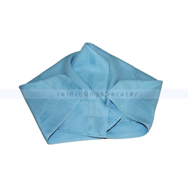 Geschirrtuch Meiko Microfaser 50x70 cm 1 Tuch blau Ideales Poliertuch besonders für Gläser 509043